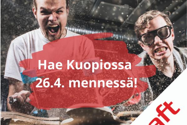 Hae mukaan Kuopion Draftiin!