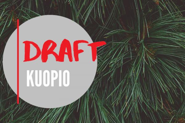 Kuopion Draft-ohjelmassa tasokkaita pitchauksia